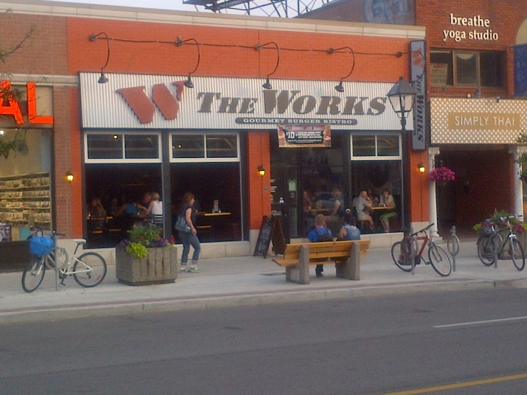 The Works Oakville >> The Works Gourmet Burger Bistro Travel In Ontario